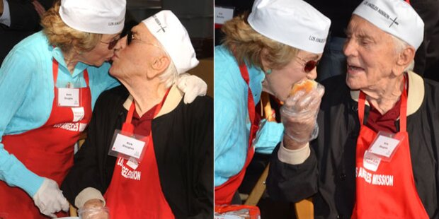 Kirk Douglas (95): Verliebt wie am 1. Tag