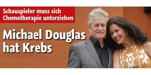 Michael Douglas hat Tumor im Hals