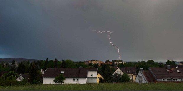 Unwetter und Hochwasser in Deutschland