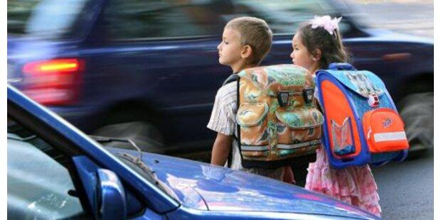 2006 verunglückten 465 Kinder am Schulweg