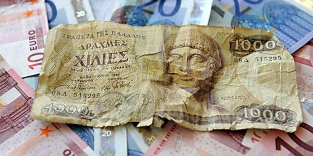 FPÖ und BZÖ wollen Drachme für Griechen