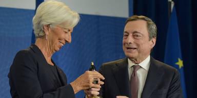 Lob für EZB-Präsident zum Abschied