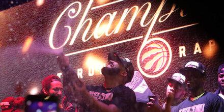 Toronto Raptors sind erster kanadischer NBA-Champion