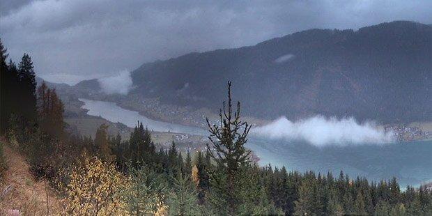 Hochwasser-Alarm in Kärnten