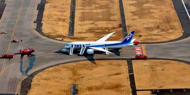 Weltweiter Flugstopp für Dreamliner