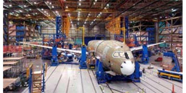 Erneut Probleme bei Boeing-Dreamliner-Produktion