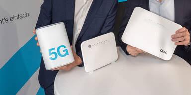 """""""3"""" startet Hybrid-Internet und 5G für zuhause"""