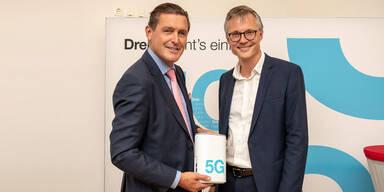 """""""3"""" setzt nächsten 5G-Schritt in Wien"""