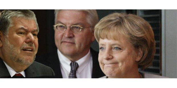 Merkel nennt SPD-Rochaden würdelos