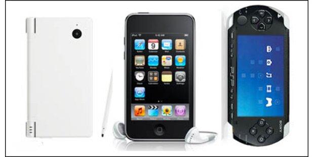 100 Euro Rabatt auf PSP, DSi& iPod Touch