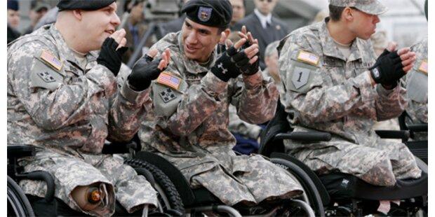 Immer mehr entstellte US-Soldaten kehren zurück