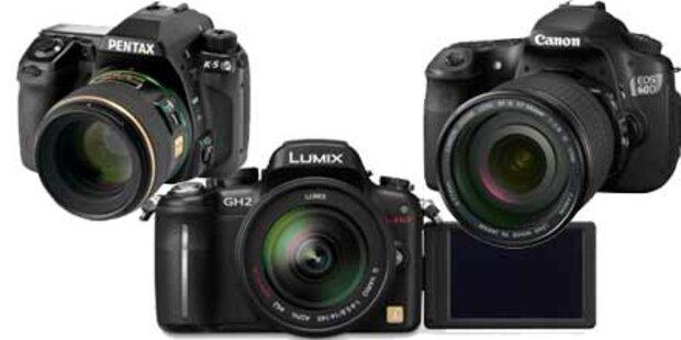 Drei neue Top-Kameras von der photokina