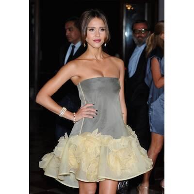 Jessica Alba: Minidress Collection