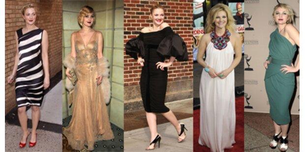 Drew Barrymore im Kleiderrausch