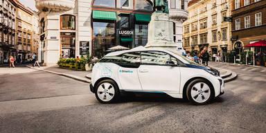 BMW i3 von DriveNow kommt in Wien gut an