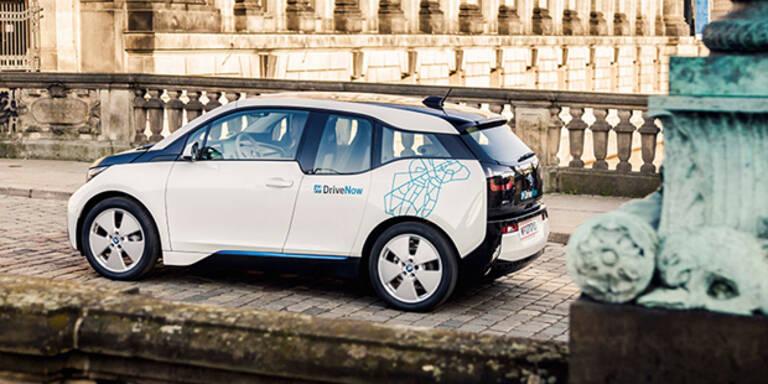 DriveNow jetzt mit Elektroauto in Wien