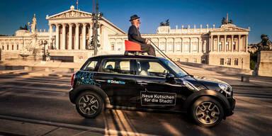 """DriveNow"" in Wien offiziell gestartet"