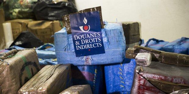 Rekord: 7 Tonnen Cannabis beschlagnahmt