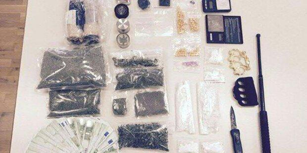 Drogenhandel: Acht Steirer festgenommen