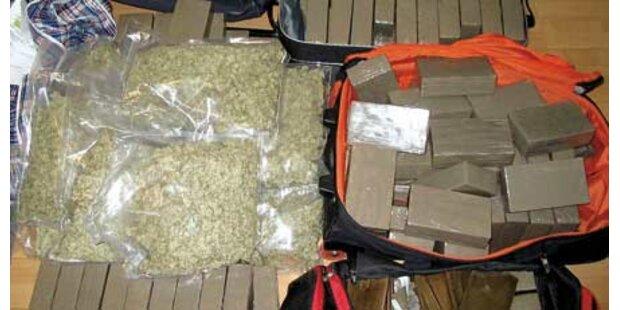 Drogendealer legte Marihuanaplantage an