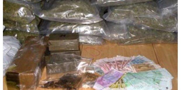 Drogenschmuggler in Linz verhaftet