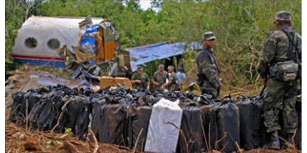 Kokain-Flieger in Mexiko abgestürzt