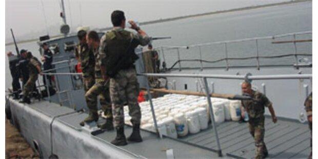 Größter Drogenfund von Liberia auf Schiff