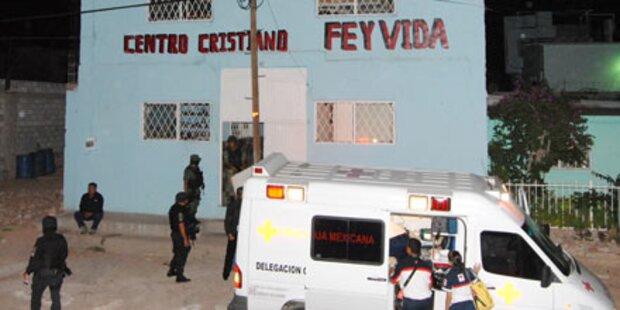 Mexiko: 19 Drogen-Patienten erschossen