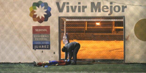 Fußball-Match: Sieben Burschen erschossen