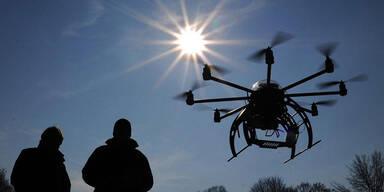 Drohne kam Hubschrauber bedrohlich nahe