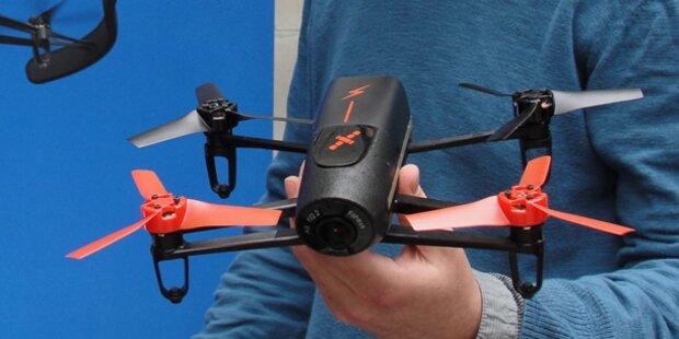 Passagierflugzeug fast mit Drohne kollidiert
