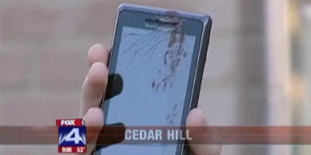 Smartphone explodierte beim Telefonieren
