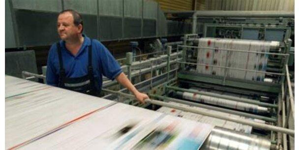 Lohnerhöhung für Drucker fixiert