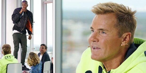 DSDS-Rüpel Diego sticht Vater nieder
