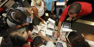 Gelungener Verkaufsstart für das iPad