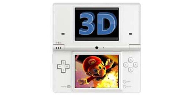 Nintendo bringt 3D-fähigen DS-Nachfolger