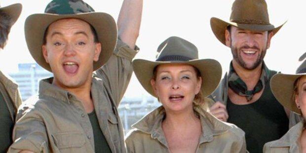 Dschungel-Stars feiern, Hotel-Rauswurf droht
