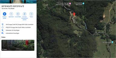 Google Maps lässt RTL-Dschungelcamp auffliegen