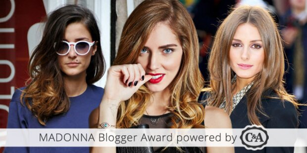 MADONNA Blogger Award