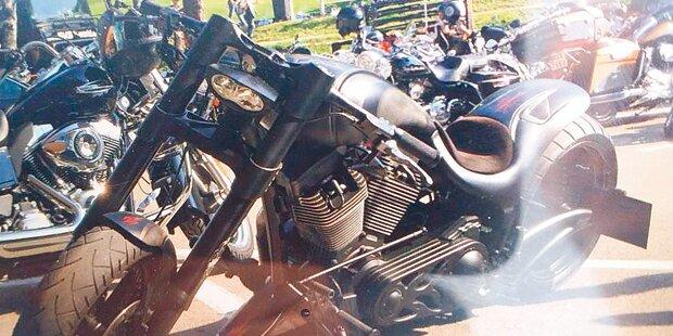 Fünf Motorräder um 266.000 Euro gestohlen