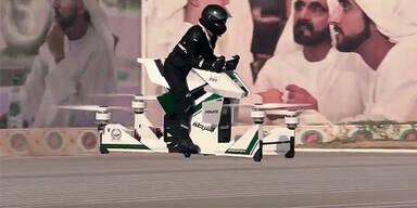 Polizei in Dubai setzt auf Hoverbikes