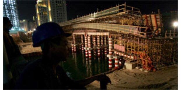 Neue Brücke in Dubai eingestürzt