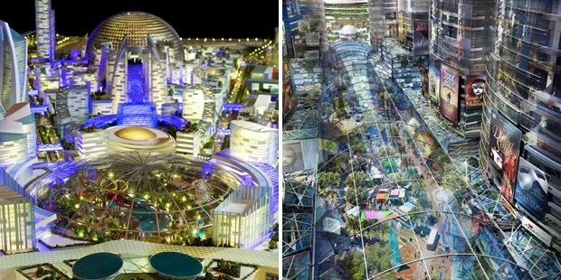 Dubai plant weltgrößtes Einkaufszentrum