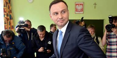 Polen: Duda bei Präsidentenwahlen vorne