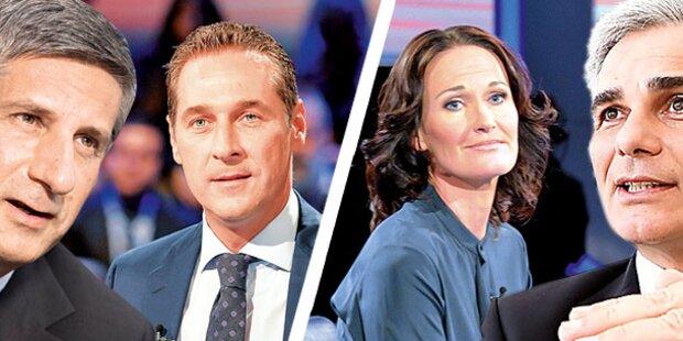 Drei große Votings zu den TV-Duellen