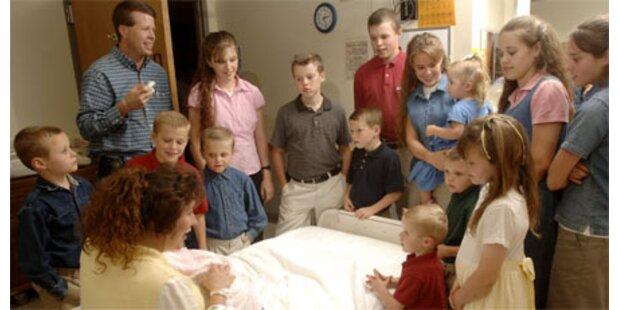 US-Ehepaar erwartet das 19. Kind
