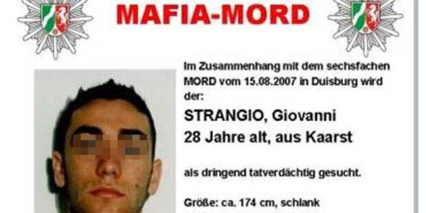 Mafia-Möder von Duisburg geschnappt