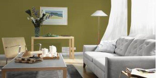 Wie die Farbe den Raum verändert