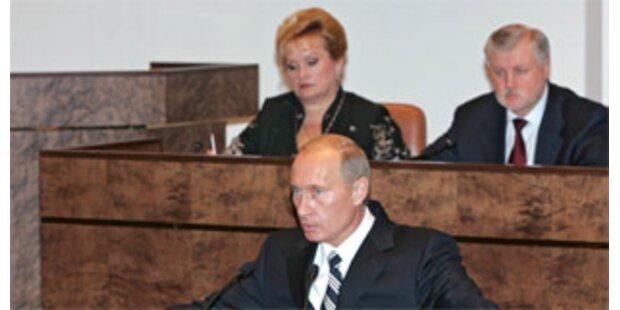 Duma beschloss Aussetzung des KSE-Vertrags