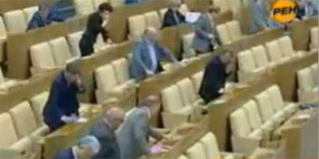 Russisches Parlament blamiert sich im TV
